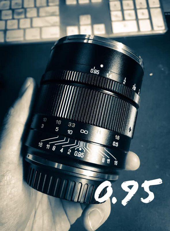 中一光学即将发布尼康Z卡口50mm f/0.95 III全幅无反镜头
