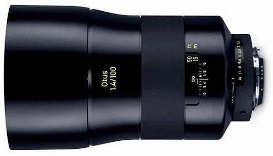 蔡司Otus 100mm f/1.4 新款镜头详细规格信息曝光