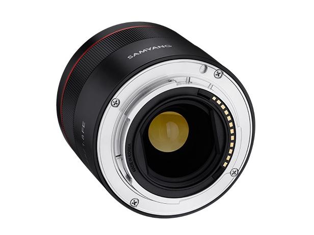 三阳AF 45mm F1.8 FE镜头照和规格首次曝光