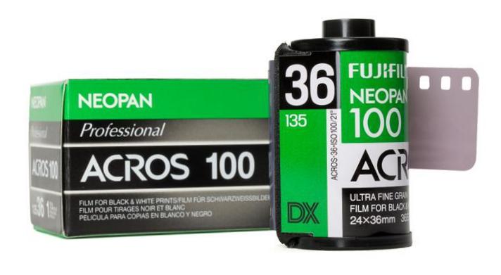 富士秋季推出新款Neopan 100 ACROS Ⅱ黑白胶卷