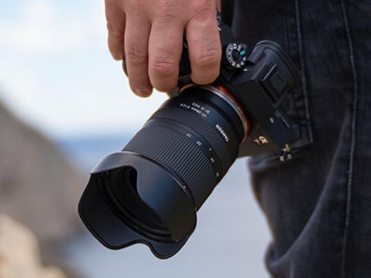 专为索尼E卡口设计,腾龙17-28mm F2.8 RXD 镜头即将发布