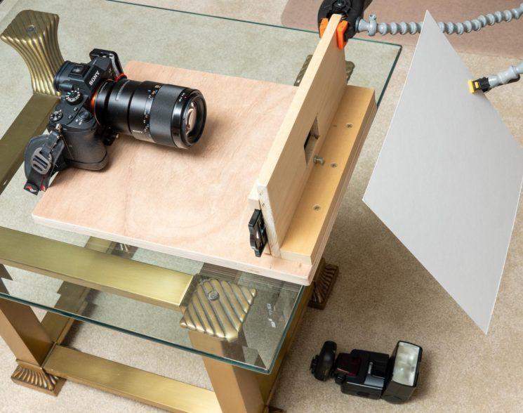 如何自制35mm反转片和负片翻拍设备