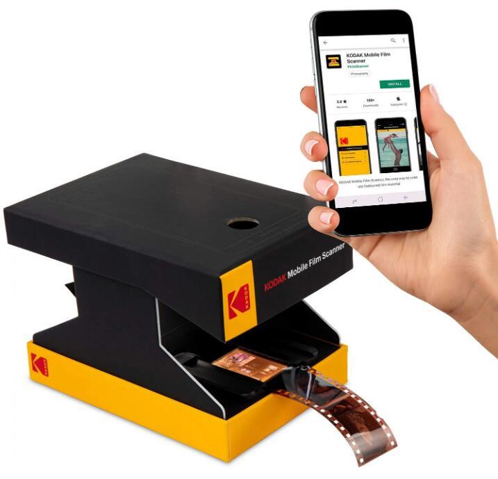 柯达推出价格实惠的纸质移动胶片扫描仪!