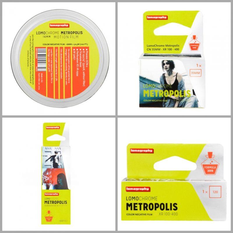 Lomo推出新款LomoChrome Metropolis XR 100–400彩色负片!