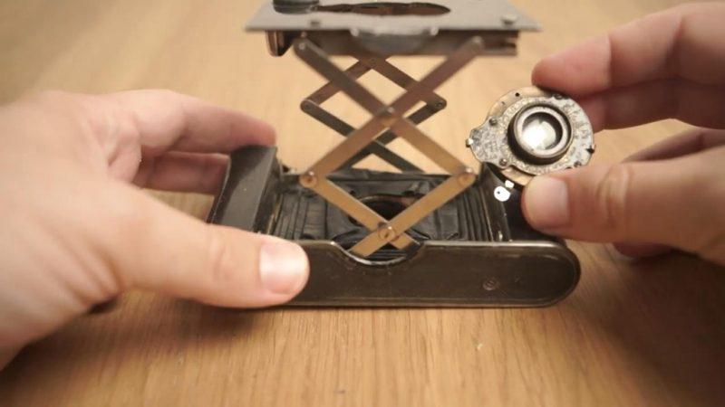 从百年袖珍型柯达相机拆卸下来的镜头竟然能拍出如此美丽的影像!