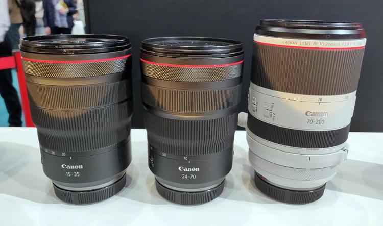 佳能RF 15-35mm、24-70mm及70-200mm f/2.8L镜头售价曝光!