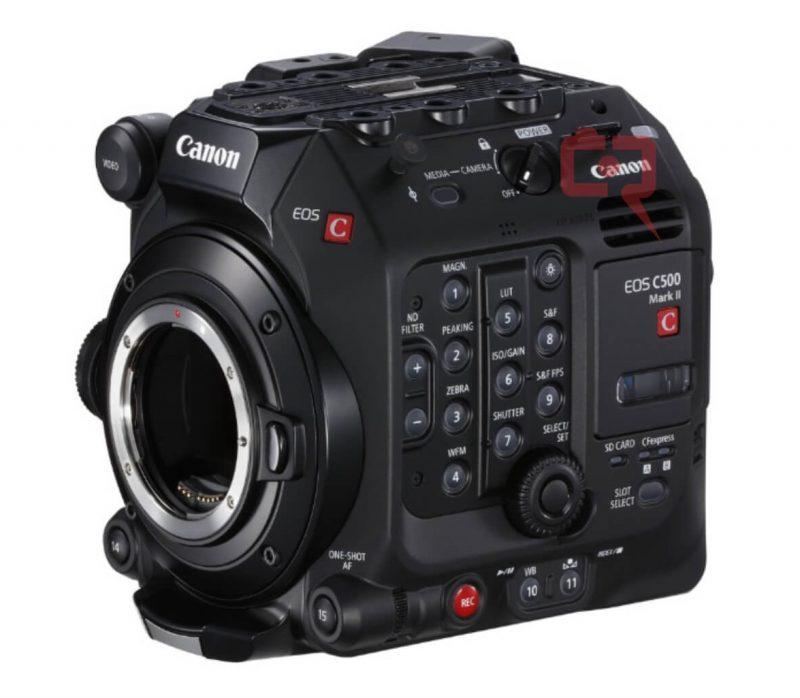 佳能Cinema EOS C500 Mark II摄像机外观照和相关规格信息曝光!