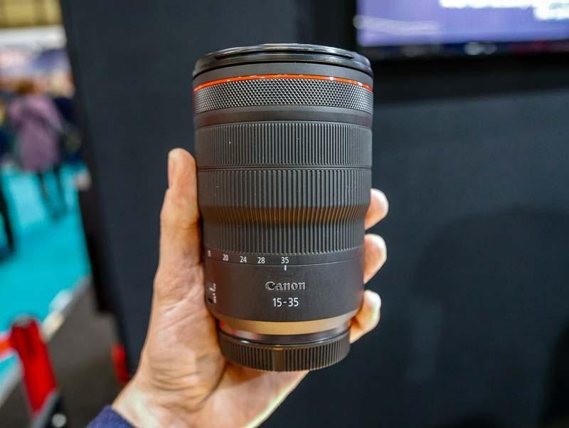 传佳能9月发布RF 15-35mm F2.8 L IS USM、RF 24-70mm F2.8 L IS USM镜头