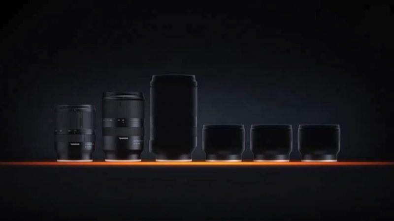 腾龙推出索尼FE卡口四款新镜头