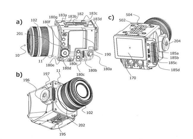 佳能公布小型模块RF卡口CINI单元专利