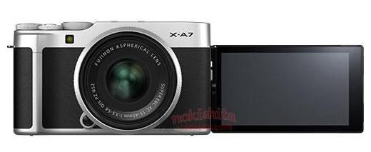 富士X-A7相机外观照曝光