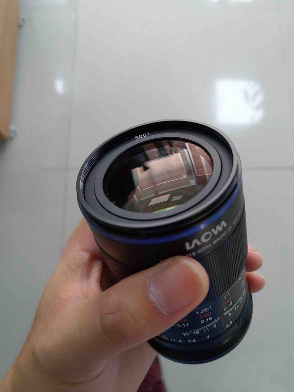 老蛙65mm f/2.8 2X Macro镜头研发中