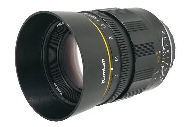 Kamlan推出KL-15mm f/2.0和KL-55mm f/1.1镜头