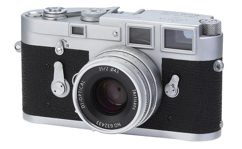七工匠发布35mm f/2银色版全画幅镜头