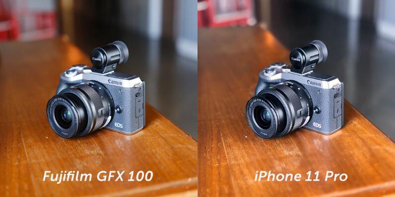 iPhone11 Provs1亿像素中画幅相机对比