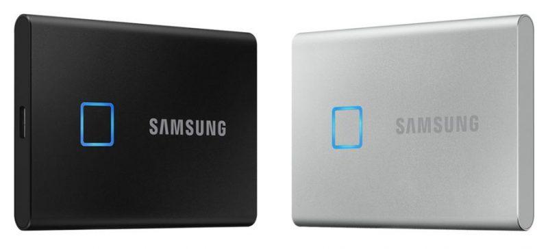 三星发布新款T7 Touch便携式固态硬盘