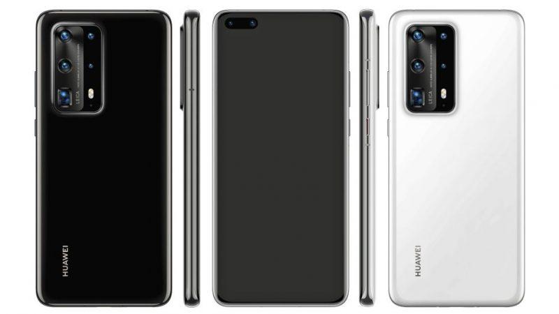华为P40 Pro手机的设计可能会打破5只摄像头和10倍光学变焦的记录!