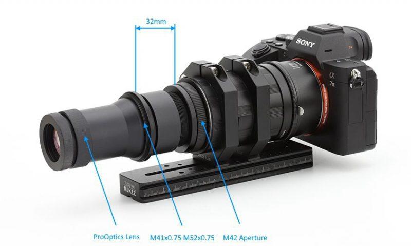 将用于工业的镜头改装成超级微距摄影镜头!