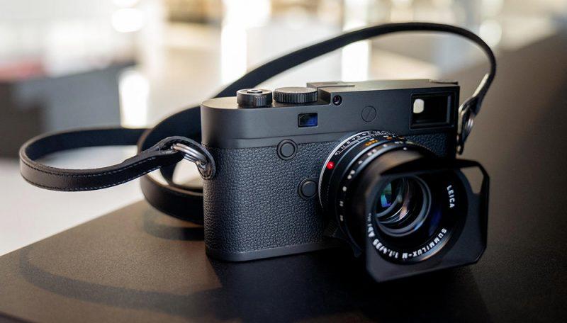 徕卡正式发布4000万像素M10 Monochrom相机