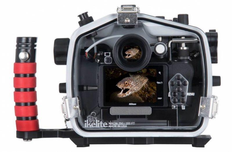 Ikelite推出适用于尼康Z50相机的200DL防水罩
