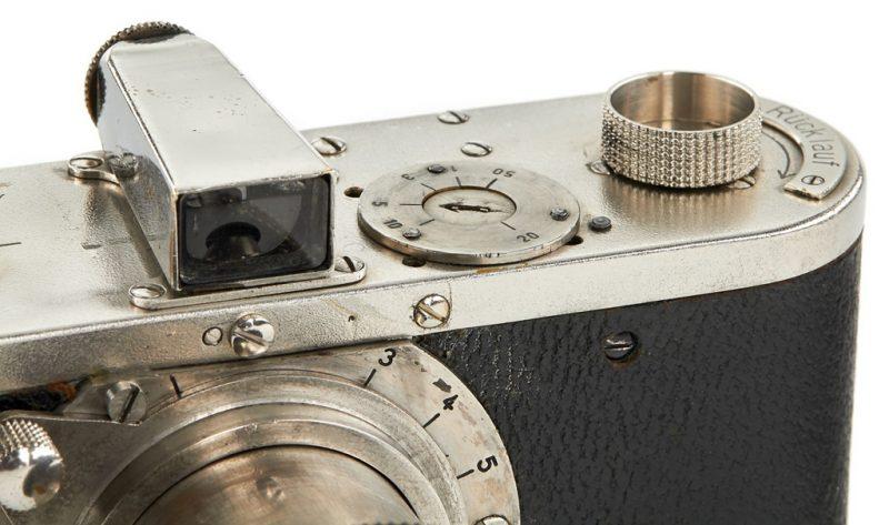 徕卡0系列原型机估价770万元成为徕茨拍卖会的亮点