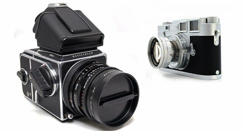 中画幅镜头和35mm镜头