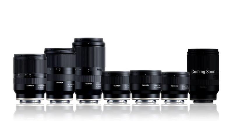 腾龙即将为全画幅索尼E卡口相机推出新款变焦镜头?!
