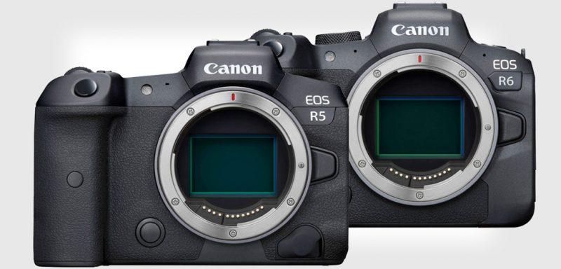 佳能即将推出EOS R5和EOS R6相机升级固件