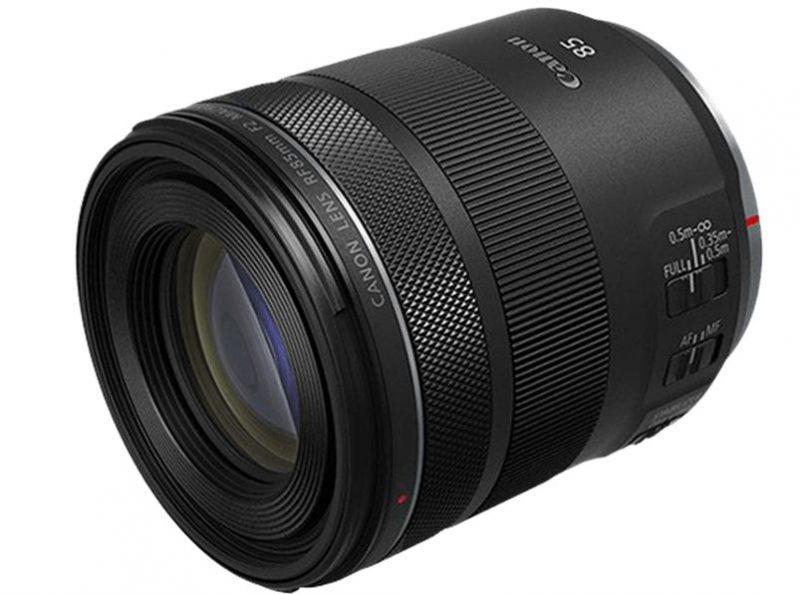 佳能RF 85mm F2 Macro IS STM镜头规格曝光