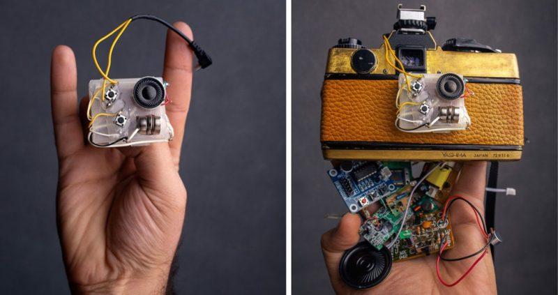 """自制""""会说话""""的智能相机?!"""