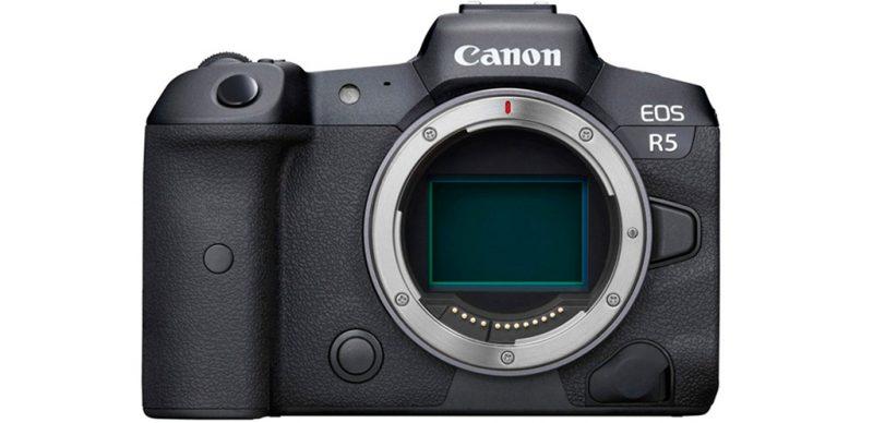 佳能即将发布EOS R5C相机