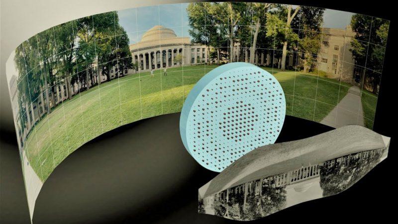 麻省理工制造一款厚度1mm可拍摄180度全景图像的鱼眼镜头!