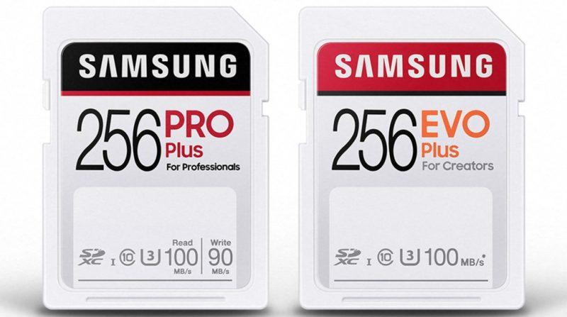 三星正式发布PRO Plus、EVO Plus SD卡