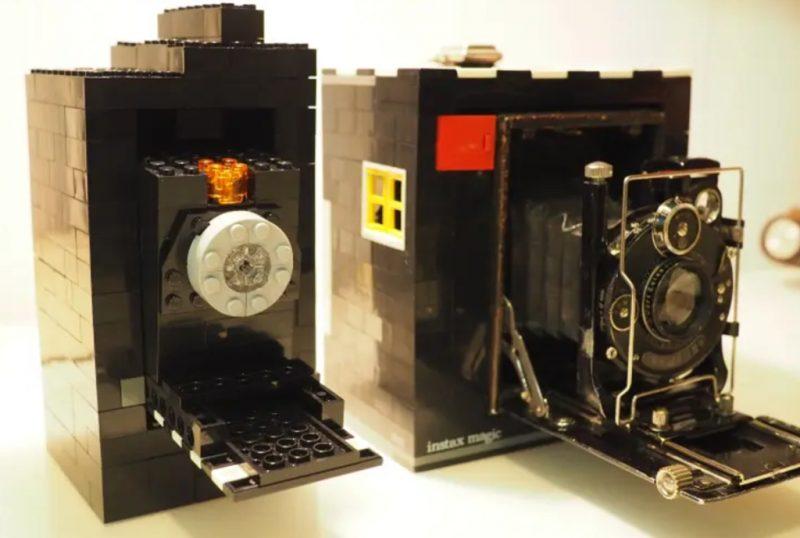 使用乐高积木制作一款数码相机?!