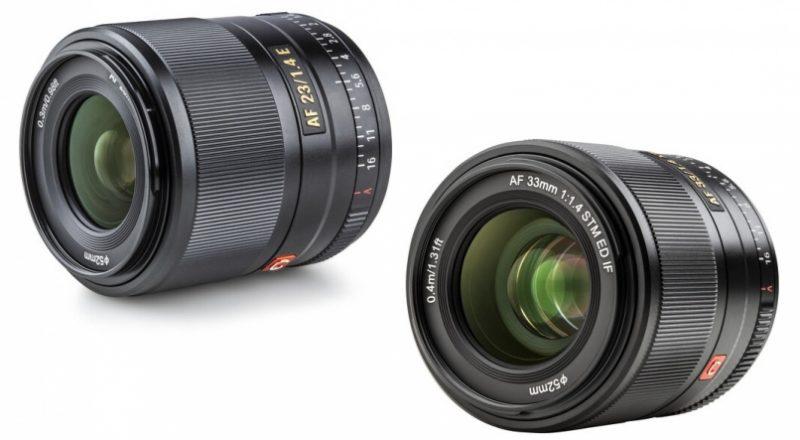 唯卓仕发布AF 23mmF1.4 EF和AF 33mmF1.4 EF镜头V1.0.5版本固件