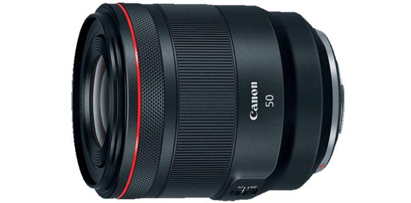 佳能发布RF 50mm F1.2L USM镜头1.0.5版本升级固件