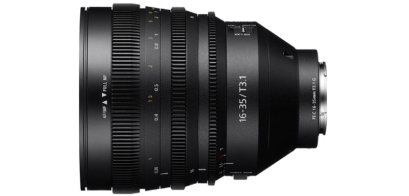 索尼正式发布FE C 16-35mm T3.1 G镜头