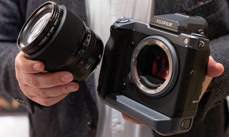 富士GF 80mm F1.7 R WR镜头外观照曝光