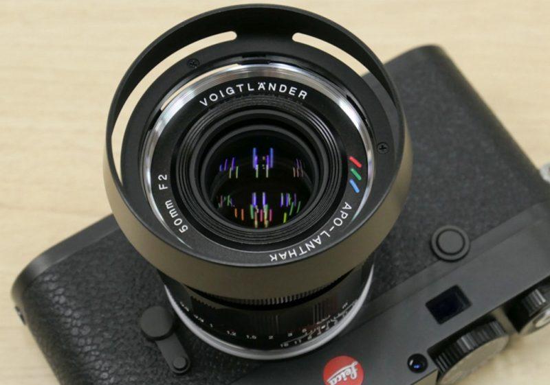 确善能正式发布福伦达APO-LANTHAR 50mm F2 Aspherical VM镜头