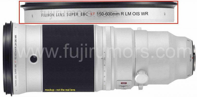 富士即将发布XF 150-600mm R LM OIS WR镜头