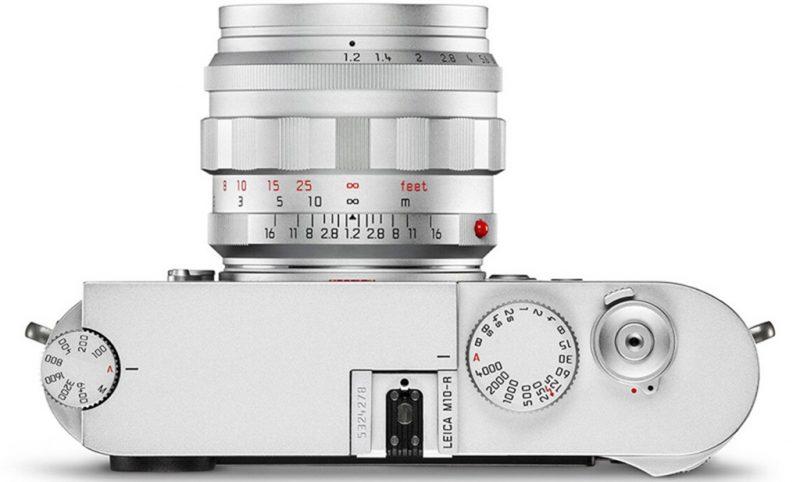 徕卡NOCTILUX-M 50mm F1.2 Heritage镜头外观照曝光
