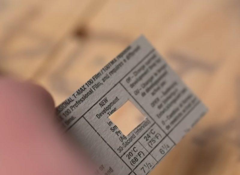 用火柴盒即可制作一部针孔相机?!