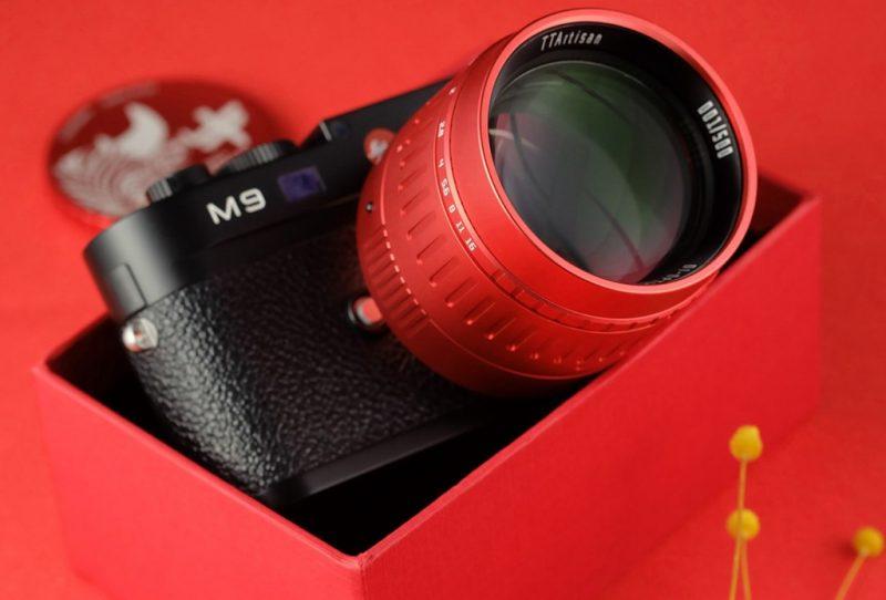 铭匠光学正式发布50mm F0.95红色限量版镜头