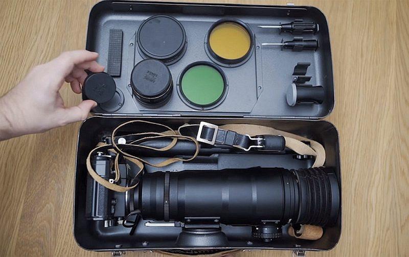 使用前苏联Zenit Fotosnaiper枪型相机会拍摄出什么效果?!