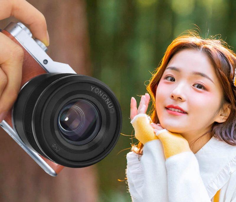 永诺正式发布25mm F1.7镜头