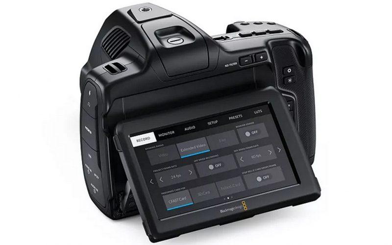 Blackmagic Design正式发布Blackmagic Pocket Cinema Camera 6K Pro摄像机