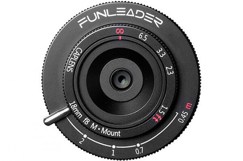 Funleader正式发布适用于徕卡M卡口的CapLens 18mm F8镜头