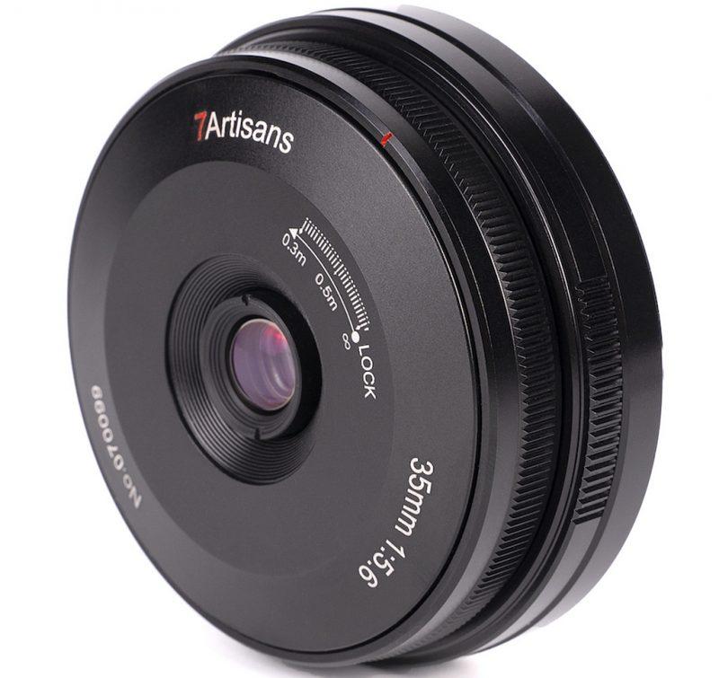 七工匠正式发布适用于索尼E、尼康Z和松下L卡口的35mm F5.6镜头