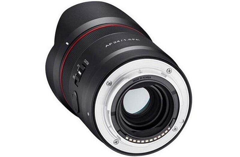 三阳AF 24mm F1.8 FE镜头外观照和规格曝光