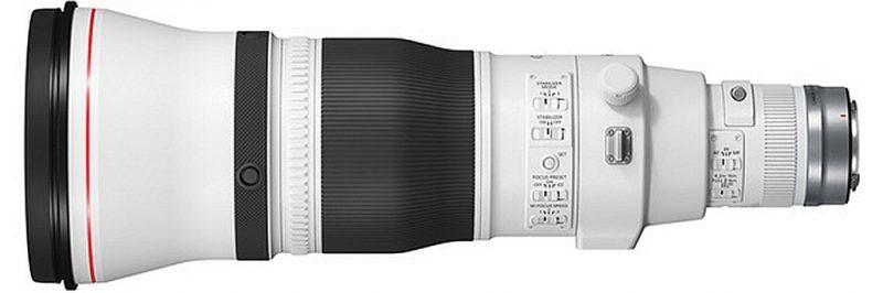 佳能正式发布RF 400mm F2.8 L IS USM、RF 600mm F4 L IS USM镜头